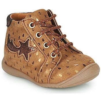 Skor Flickor Höga sneakers GBB POMME Brun