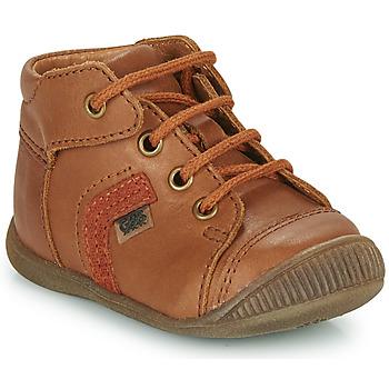 Skor Pojkar Höga sneakers GBB GARY Brun