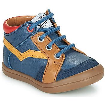 Skor Pojkar Höga sneakers GBB ASTORY Blå