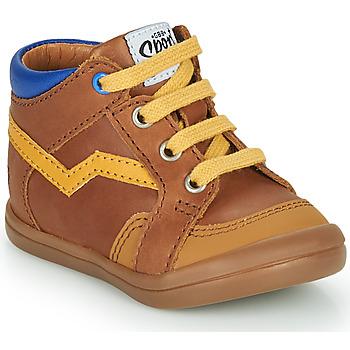 Skor Pojkar Höga sneakers GBB ASTORY Brun