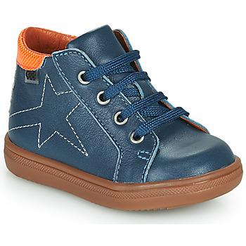 Skor Pojkar Höga sneakers GBB DOMINICO Blå
