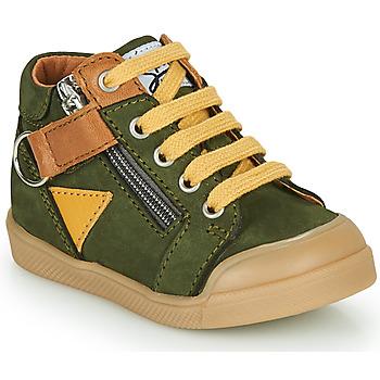 Skor Pojkar Höga sneakers GBB TIMOTHE Grön