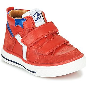 Skor Pojkar Höga sneakers GBB FLAVIO Röd
