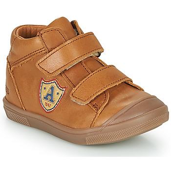 Skor Pojkar Höga sneakers GBB LAUREL Brun