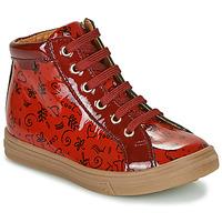 Skor Flickor Höga sneakers GBB PHILEMA Röd