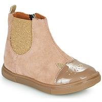Skor Flickor Boots GBB JESSINE Beige