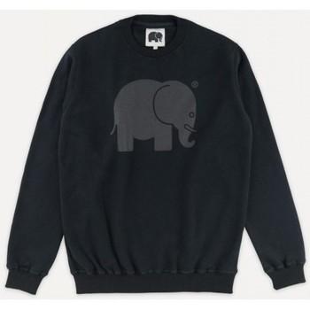 textil Herr Sweatshirts Trendsplant CLASSIC CREWNECK 029030MBBC Svart