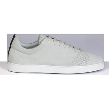 Skor Herr Sneakers Oth Baskets  gravière gris/blanc