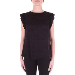 textil Dam Blusar Versace B0HWA631-09475 Nero