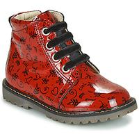 Skor Flickor Höga sneakers GBB NAREA Röd