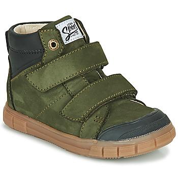 Skor Pojkar Höga sneakers GBB HENI Grön