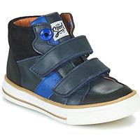 Skor Pojkar Höga sneakers GBB KIMMY Blå