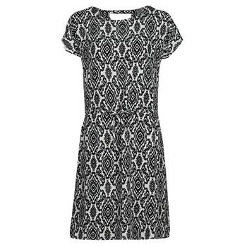 textil Dam Korta klänningar Only ONLNOVA Vit / Svart