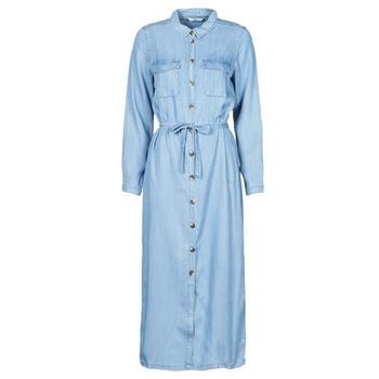 textil Dam Långklänningar Only ONLCASI Blå