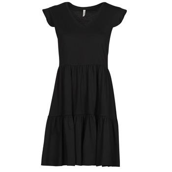 textil Dam Korta klänningar Only ONLMAY Svart
