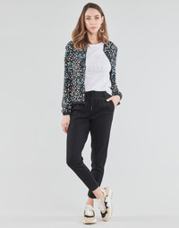textil Dam Chinos / Carrot jeans Only ONLPOPTRASH Svart