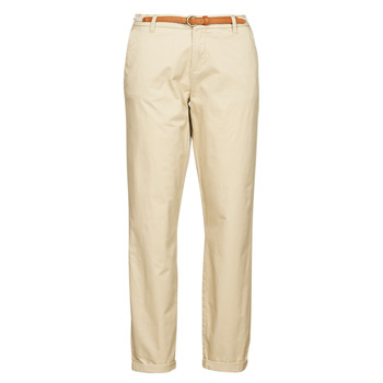 textil Dam Chinos / Carrot jeans Only ONLBIANA Beige