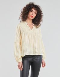 textil Dam Blusar Only ONLNEW ELISA Beige