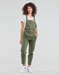 textil Dam Uniform G-Star Raw SLIM DUNGAREE WMN Kaki