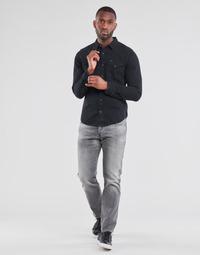 textil Herr Raka byxor G-Star Raw 3301 STRAIGHT Grå