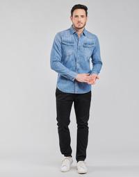 textil Herr Chinos / Carrot jeans G-Star Raw VETAR SLIM CHIN Svart