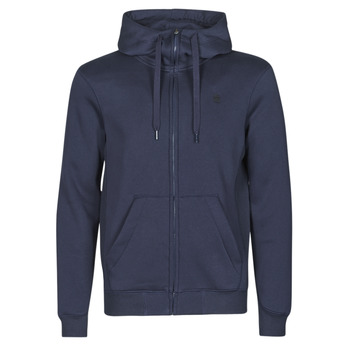 textil Herr Sweatshirts G-Star Raw PREMIUM BASIC HOODED ZIP SWEATER Marin