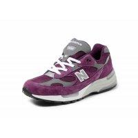 Skor Sneakers New Balance 992 Purple Grey Purple / Grey