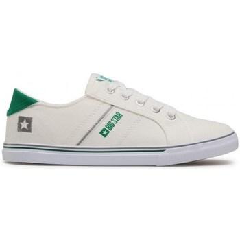 Skor Dam Sneakers Big Star DD274893 Vit, Gröna