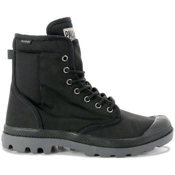 Skor Dam Höga sneakers Palladium Manufacture Pampa Solid Ranger Gråa