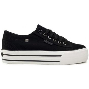 Skor Dam Sneakers Big Star HH274056 Vit, Svarta