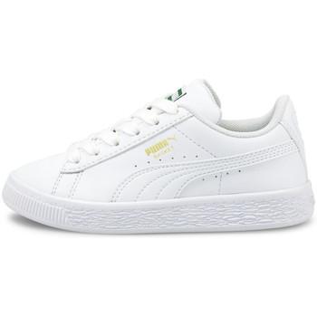 Skor Barn Sneakers Puma Basket classic xxi ps Vit