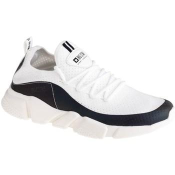 Skor Dam Sneakers Big Star FF274A052 Vit, Svarta
