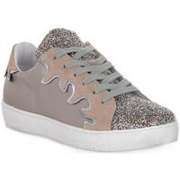 Skor Dam Sneakers At Go GO GLITTER FIESTA Beige