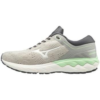 Skor Dam Sneakers Mizuno Wave Skyrise Vit, Gråa, Celadon