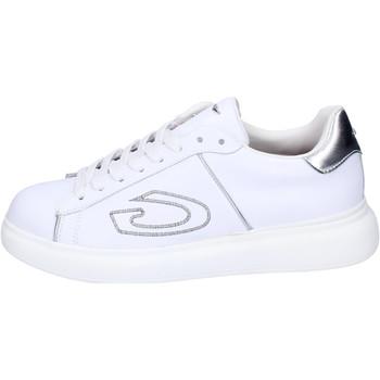 Skor Dam Sneakers Guardiani Sneakers Pelle Bianco