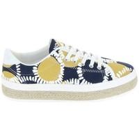 Skor Dam Sneakers No Name Wax Imprime Flerfärgad