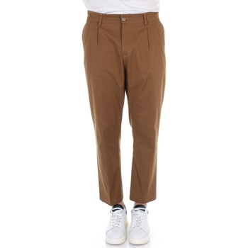 textil Herr Chinos / Carrot jeans Daniele Alessandrini PB001A344102 Camel