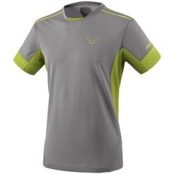 textil Herr T-shirts Dynafit Vertical 2 M SS Gråa, Celadon