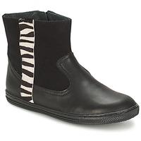 Skor Flickor Boots Citrouille et Compagnie ELLIA Svart
