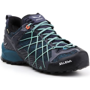 Skor Dam Vandringskängor Salewa Buty trekkingowe  Wildfire GTX 63488-3838 navy , blue, black