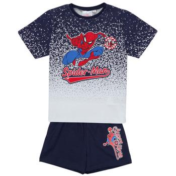 textil Pojkar Set TEAM HEROES  SPIDERMAN SET Flerfärgad