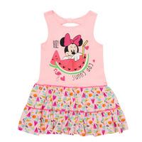 textil Flickor Korta klänningar TEAM HEROES  MINNIE DRESS Rosa