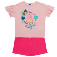 textil Flickor Set TEAM HEROES  PEPPA PIG SET Flerfärgad