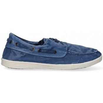 Skor Herr Sneakers Natural World 55324 blå
