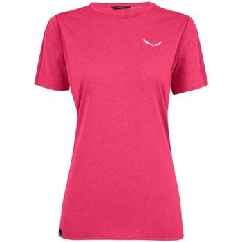 textil Dam T-shirts Salewa Pedroc 3 Dry W Rosa
