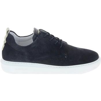 Skor Herr Sneakers Schmoove Bump Suede Print Bleu Blå