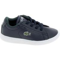 Skor Sneakers Lacoste Carnaby BB Marine Blanc Blå