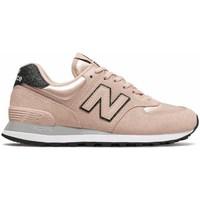 Skor Dam Sneakers New Balance 574 Rosa