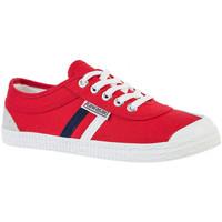 Skor Herr Sneakers Kawasaki Retro canvas Röd