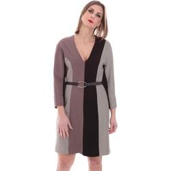 textil Dam Korta klänningar Nenette 26BB-ARAS Grå
